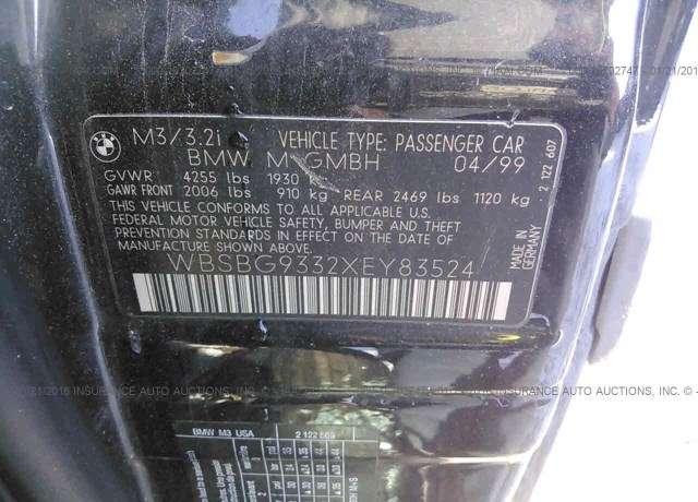 1999 BMW M3 4