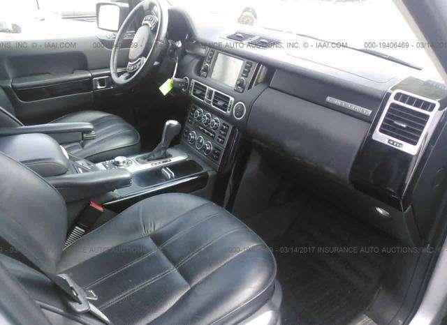 2008 Land Rover Range Rover 9
