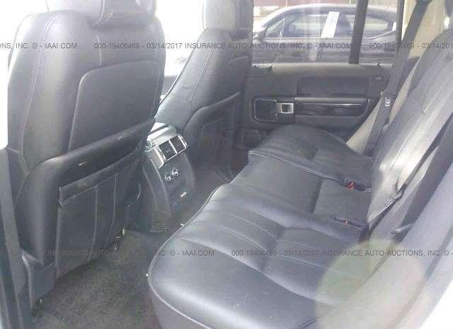 2008 Land Rover Range Rover 2